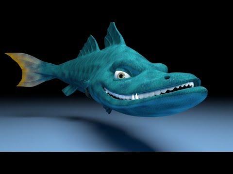 LipSync n Acting Animation Breakdown - Snook fish rig [3D]