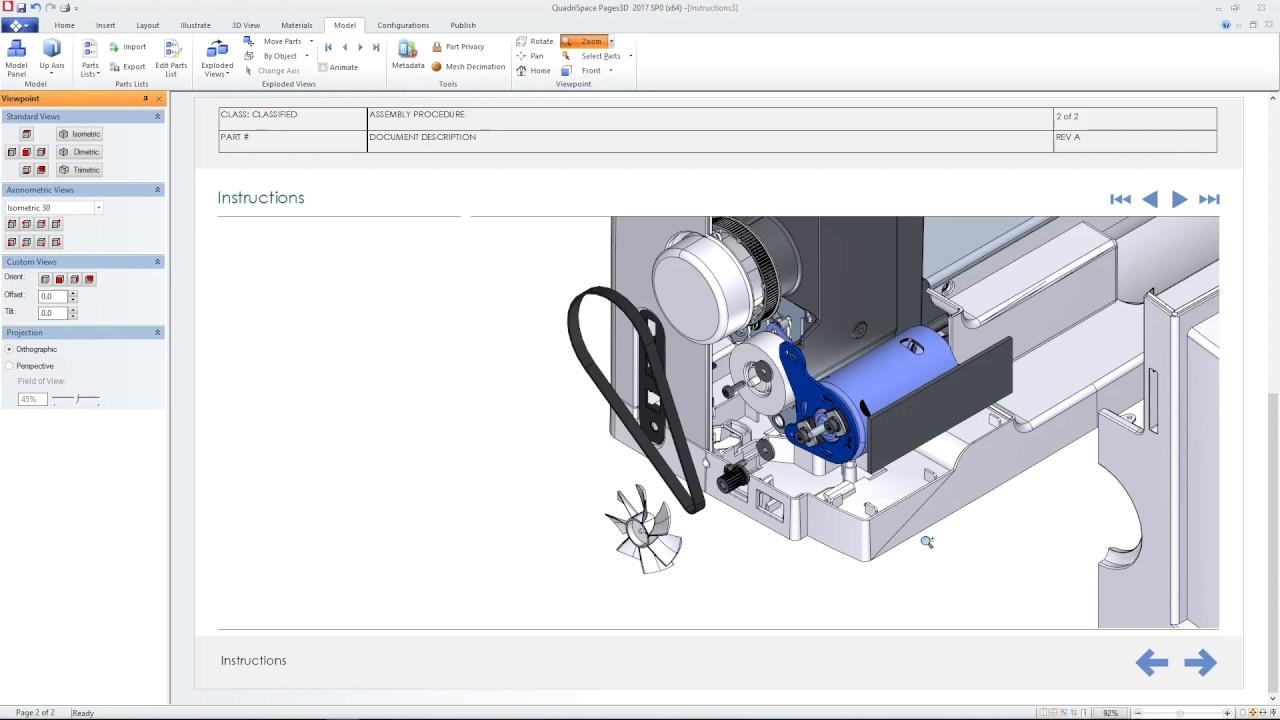 Vorschaubild: Solid Edge ST10: Technische Publikationen