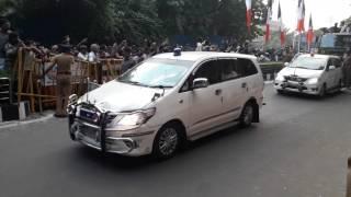 Jayalalitha Death ஊர்வலத்தில்