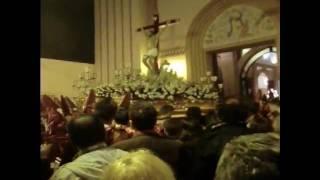 preview picture of video 'Entrada del Cristo de la Paz (Jueves Santo, Zarandona, 2011)'
