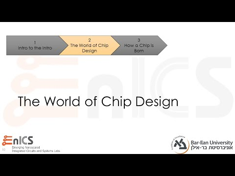 VLSI - Lecture 1b: Introduction - The World of Chip Design