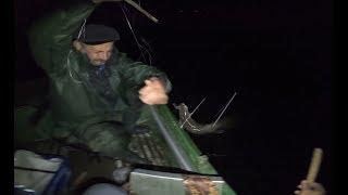 Рыбалка.Налим на стук с лодки..
