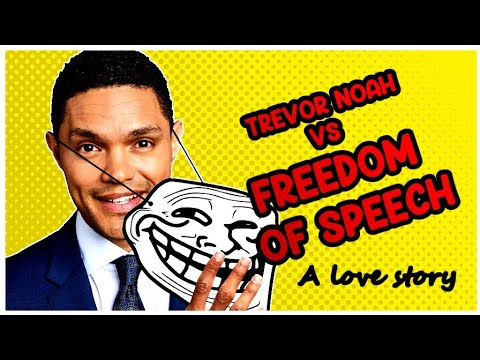 Trevor Noah is a COPYRIGHT TROLL. Here's why YOU should care!