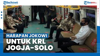 Harapan Joko Widodo Terhadap KRL Yogyakarta-Solo