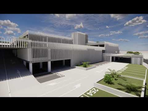 La Diputación culmina el proyecto de un edificio para 471 aparcamientos en la entrada al casco histórico de Ronda