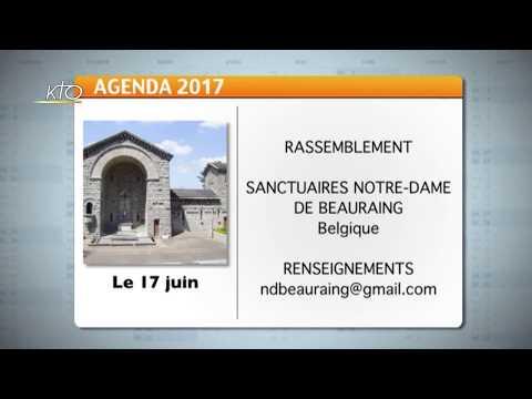 Agenda du 5 juin 2017