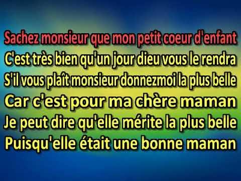 Sylvie Beauchemin   Une rose pour maman [Karaoke]