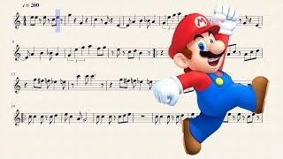 mario kart trumpet sheet music - मुफ्त ऑनलाइन