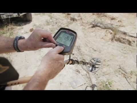 Discriminating Iron from Gold with the Fisher F75 Metal Detector