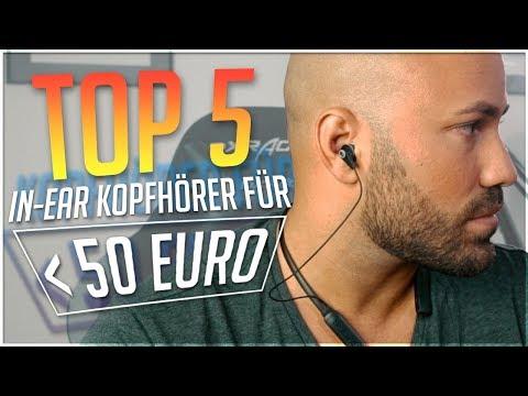 MEINE Top 5 IN EAR Bluetooth Kopfhörer UNTER 50€ #Technik