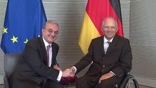 Министр иностранных дел Армении встретился с председателем Бундестага Германии