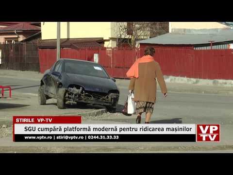 SGU cumpără platformă modernă pentru ridicarea mașinilor