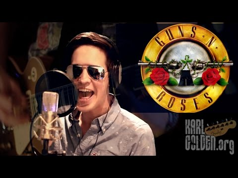 'You Could Be Mine' by Guns N Roses **FULL COVER** by Karl & Jonathan