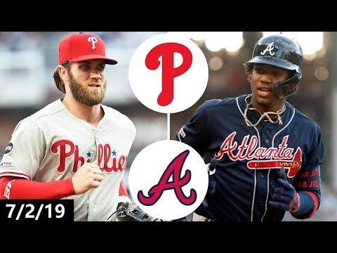 Philadelphia Phillies vs Atlanta Braves Highlights | July 2, 2019