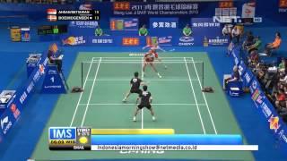 IMS - Tim bulutangkis Indonesia memenangkan juara dunia