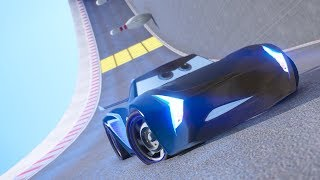 CARS 3 WALL RIDE PARKOUR CHALLENGE (Jackson Storm)