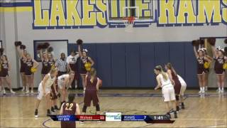 Lady Rams vs. Lake Hamilton | LIVE | January 31st 2017