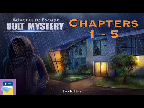 Adventure Escape: Cult Mystery Chapters 1, 2, 3, 4, 5 Walkthrough & iOS iPad Air 2 Gameplay