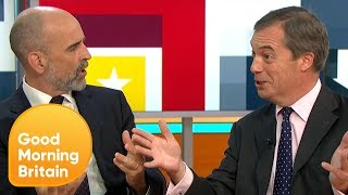 Nigel Farage Insists the UK Is Leaving the EU 'For Better or for Worse' | Good Morning Britain
