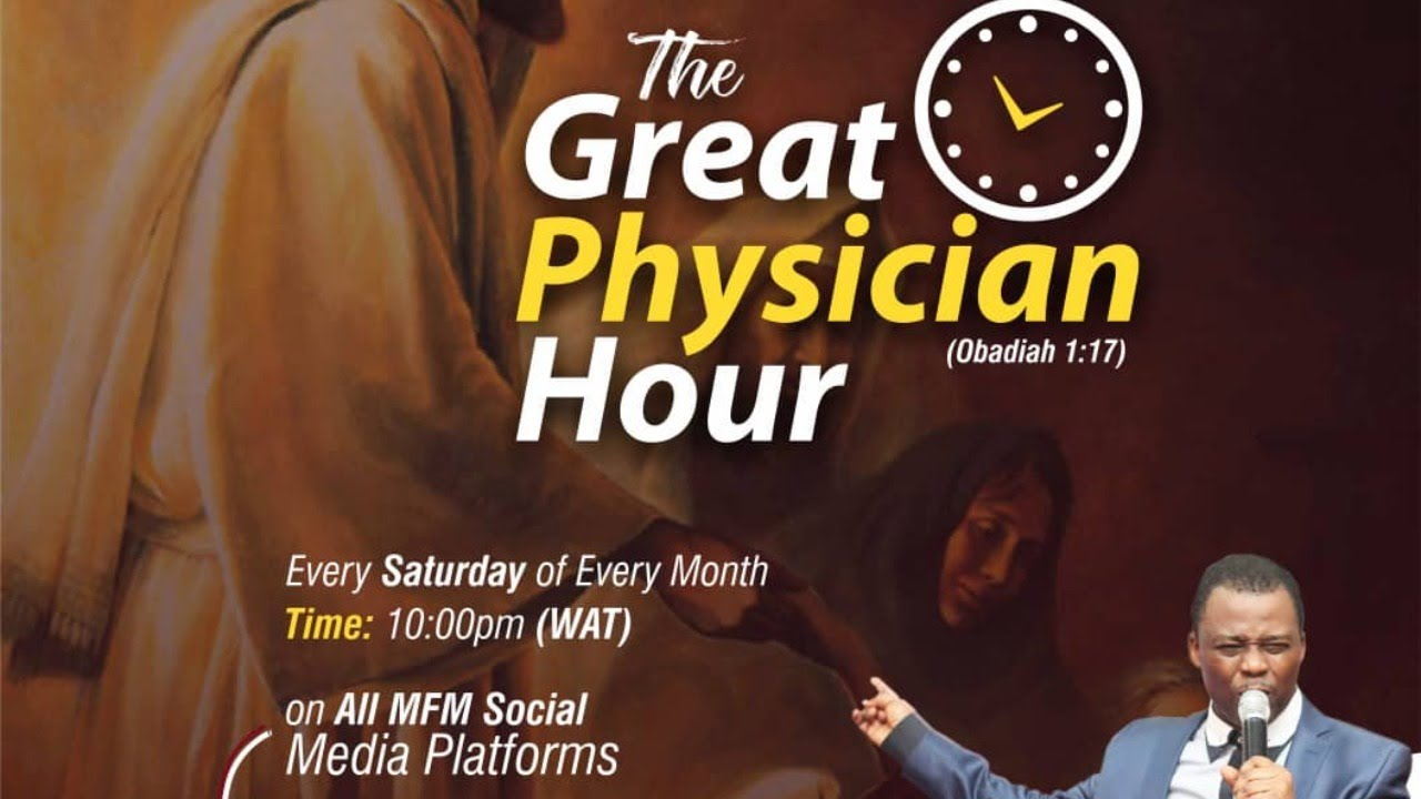 MFM Great Physician Hour 6th June 2020, MFM Great Physician Hour 6th June 2020 with Dr. D. K. Olukoya