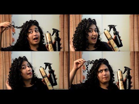 BIG TIGHT CURLS! | Bouncy Curly Hair Tutorial by Najlah Naeem