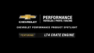 Chevrolet Performance LT4 Crate Engine - Information & Specs