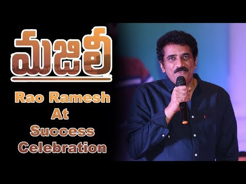 Rao Ramesh at Majili Movie Team Success Celebration