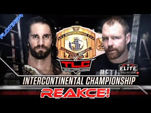 WWE TLC 2018 - Intercontinental Championship Seth Rollins vs Dean Ambrose REACTION
