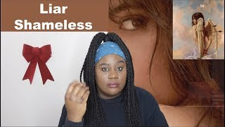 Camila Cabello   Liar AND Shameless |REACTION|