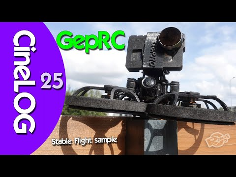 GepRC Cinelog25 - most stable cine-Whoop out there?