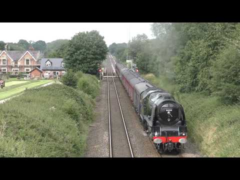 46233 'Duchess of Sutherland' on the Leamington Spa to Coven…