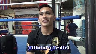 ROMERO DUNO ADMITS K.O. OF CHIMPA WAS SURPRISE; OPENS UP ON TRAINING CAMP; TALKS FREDDIE ROACH