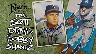 Bobby Shantz Doodle And 1/1 Autograph TTM Success