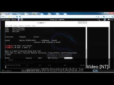 Tutorial Hack Wirelles Router with Kali Linux