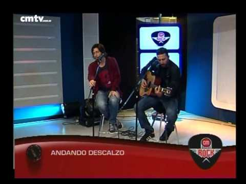 Andando Descalzo video Burton - Acústico CM Rock