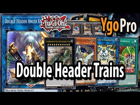 Double Header Anger Knuckle NEW! Trains Link Monster (Shaddoll
