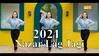 2021 New Song | Nazar Lag Jagi | Nikita | Vishwajeet Chaudhary | Latest Dj Dance | Trimurti