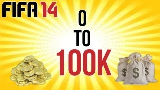Fifa 14 Ultimate Team Trading Series -  0 To 100k Ep.1 IT BEGINS!