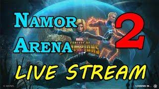 Namor Arena - Round 2 - Part 2 | Marvel Contest of Champions Live Stream