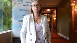 Dr. Hind Zantout at CSEIT Conference 2015 by GSTF