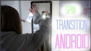 SPIN TRANSITION für ANDROID Tutorial MUSICAL.LY Deutsch// neues Update// creatis live