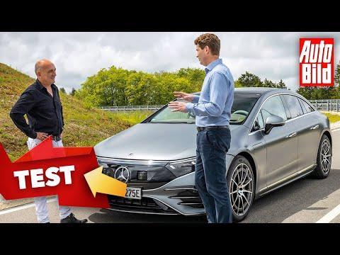 Mercedes EQS (2021)   Im EQS mit Daimler-Boss Ola Källenius   Test mit Thomas Drechsler