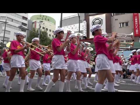 田原小学校 田原バンド・フラッグ隊 2016