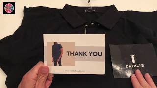 Unboxing of the Baobab Polo Shirt - the Perfect Polo?