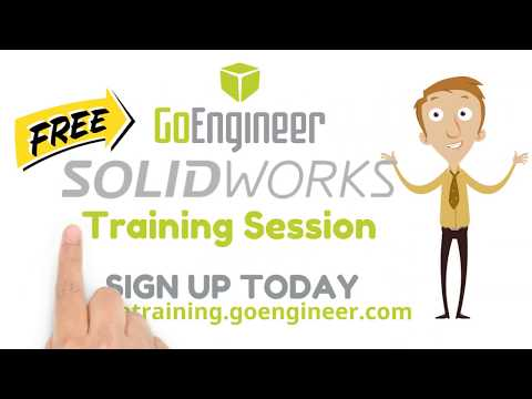 FREE ONLINE SOLIDWORKS TUTORIAL SESSION - YouTube
