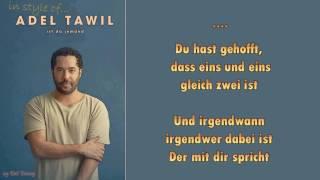 Adel Tawil    Ist Da Jemand   Instrumental