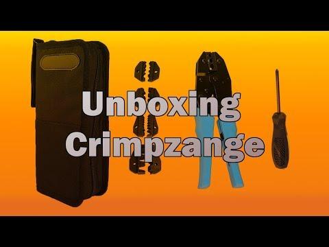 Unboxing - China Crimpzange mit 5 Einsätzen
