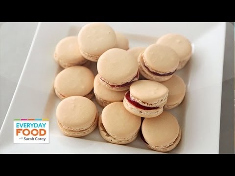 Cookie Recipe – Easy French Macarons – Reader Request Week – Everyday Food with Sarah Carey