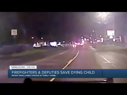 Deputies, firefighters save 10-month-old child who choked on possible drug paraphernalia