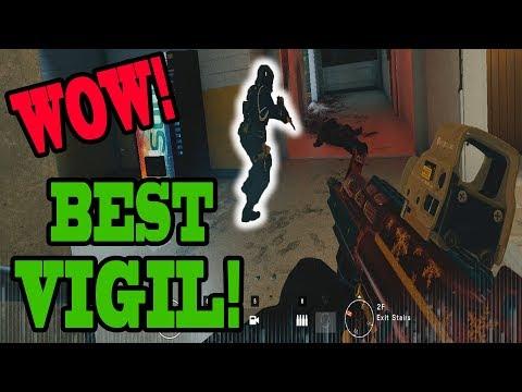 BEST Vigil EVER! - Rainbow Six Siege Gameplay